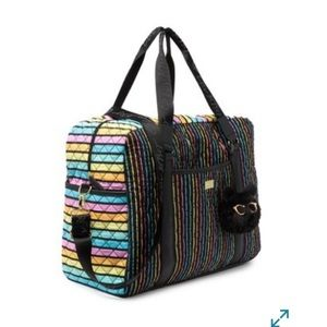 Betswy Johnson weekender (rainbow)